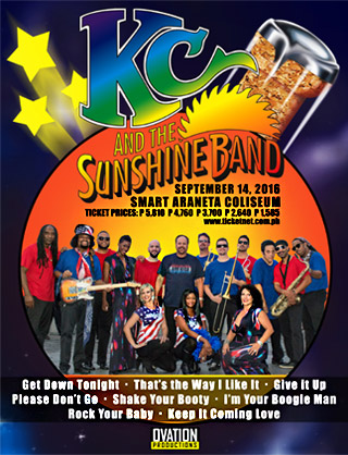 KC-SunshineBand-Manila