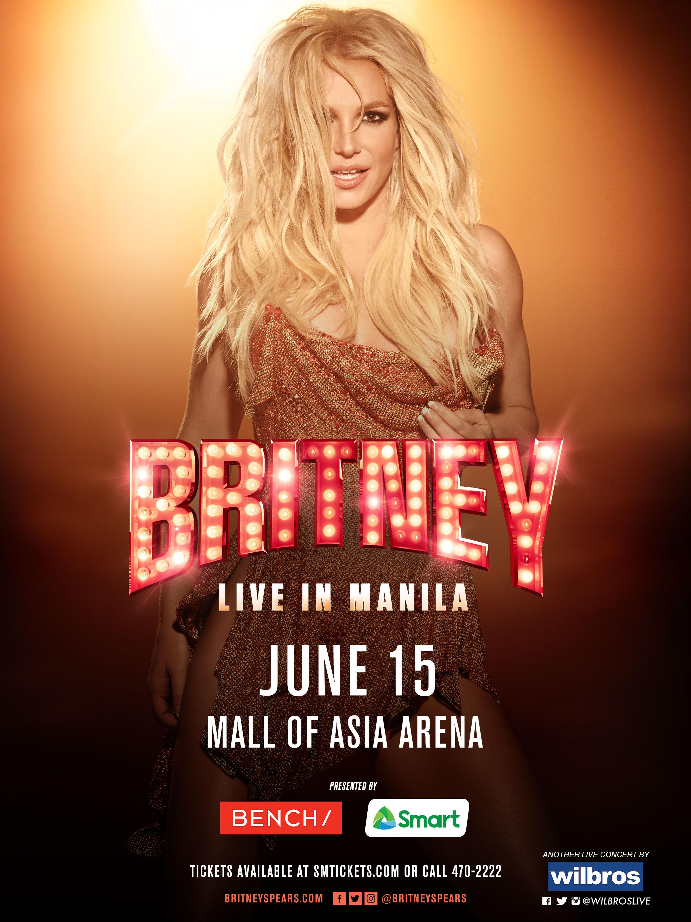 Global Pop Icon Britney Spears Finally Coming To Manila Wish Fm 107 5