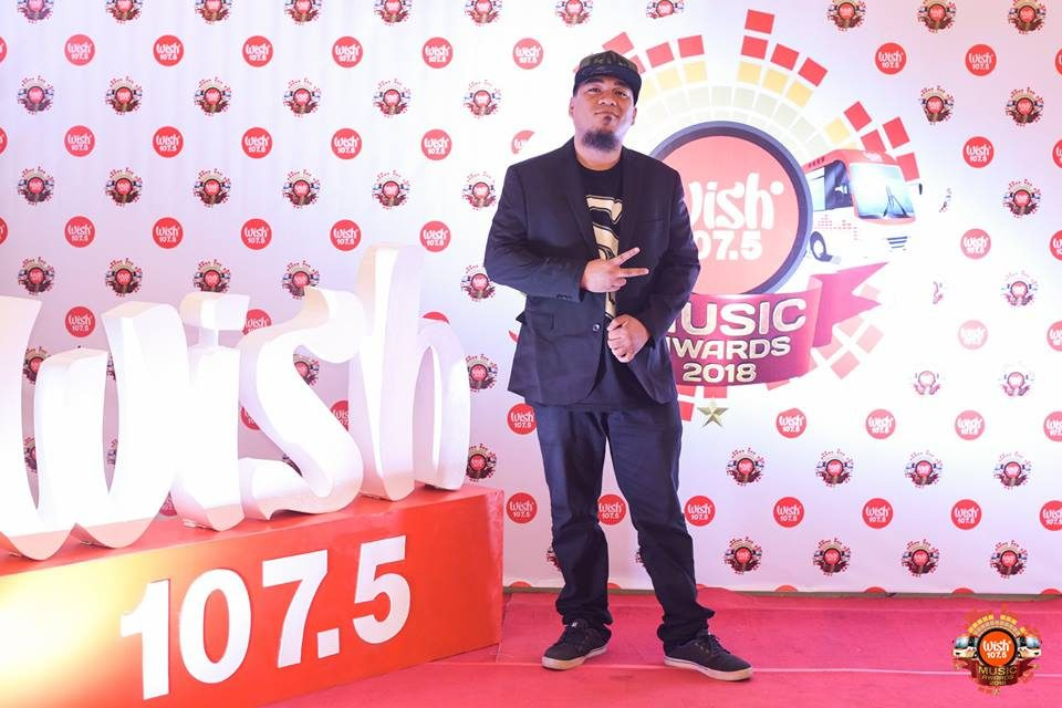 Fliptop star Flict-G on the 3rd WMA red carpet