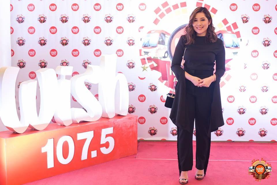 Singer-songwriter Moira Dela Torre on the 3rd WMA red carpet