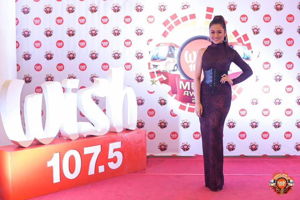 Asia's Phoenix Diva Morissette on the 3rd WMA red carpet