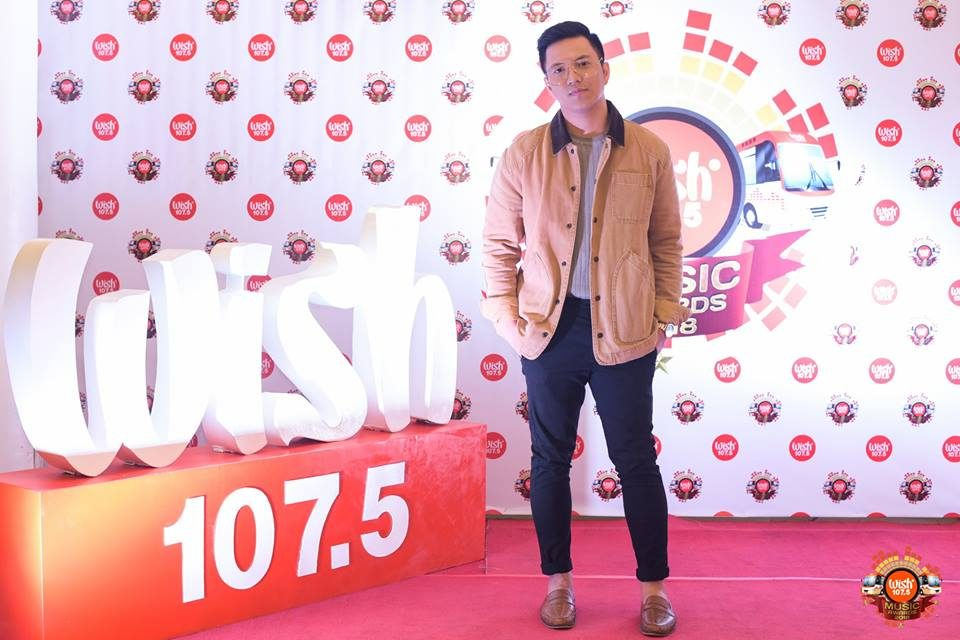 Acoustic heartthrob TJ Monterde on the 3rd WMA red carpet