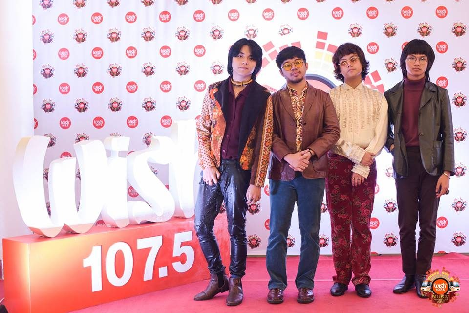 Funk fusion upstart IV of Spades on the 3rd WMA red carpet