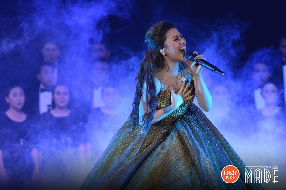 Sky's the limit. Asia's Phoenix sets the tone higher as she evocatively sang 'Rise Up' along with Wish 107.5's very own Wish Chorale.