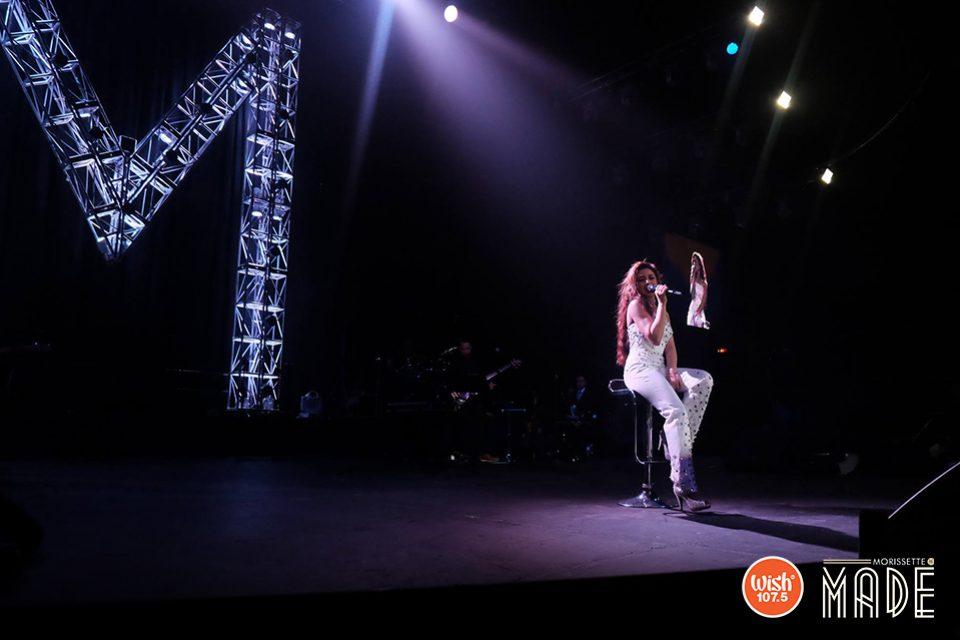 """Spreading a """"Teleserye"""" vibe at the Araneta, Morissette once again wowed her fans with OST hits including """"Hanggang"""", """"Anong Nangyari Sa Ating Dalawa"""", """"Kapag Ako Ay Nagmahal"""", and """"Ikaw Ay Ako""""."""