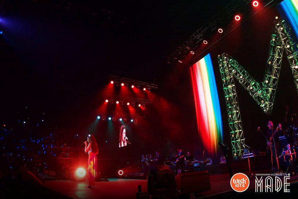 """In a breathtaking performance of seven Pinoy Divas' songs, Morissette's wide vocal range is put to the test with Leah Salonga's """"The Journey"""", Kuh Ledesma's """"Dito Ba"""", """"Minsan Pa"""" by Zsa Zsa Padilla, Jaya's """"Wala Na Bang Pagibig"""", """"Sana'y Maghintay Ang Walang Hanggan"""" by Sharon Cuneta, """"Bukas Na Lang Kita Mamahalin"""" by Lani Misalucha, and Regine Velasquez-Alcasid's """"Pangarap Ko'y Ibigin Ka."""""""