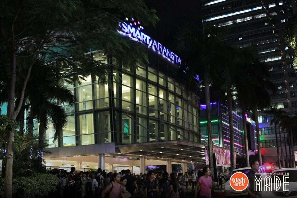 "With its historic charm and great atmosphere, the events-favored Araneta Coliseum houses Morissette's much-awaited concert, ""Morissette is Made."""