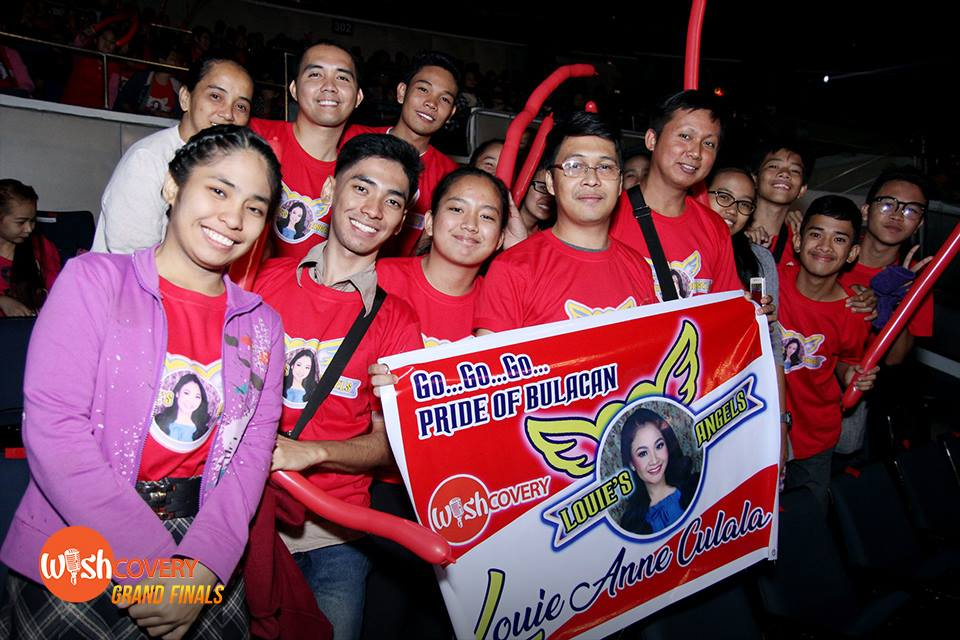 Wishful Louie Anne Culala's fans wear red to show their solid admiration and support. #WishcoveryGrandFinals-min