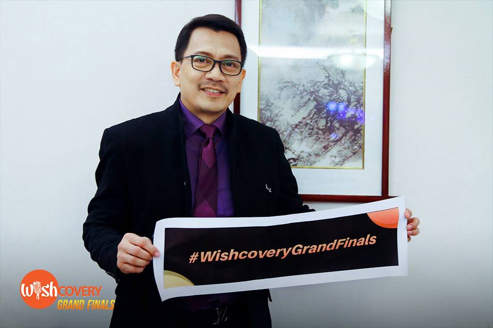 Wishcovery's originator, BMPI CEO and President Kuya Daniel Razon gives his warm smile and hands-on support since the competition's inception to its fruition tonight as it bares its first-ever Grand Finals champ. #WishcoveryGrandFinals