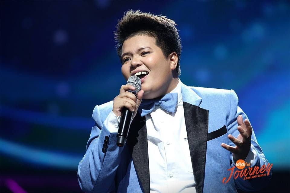 "Wishful 5's Ace Bartolome delivered a stunning version of ""I Still Believe,"" a hit song popularized by Mariah Carey, during the Wishful Journey Album Launch Concert."