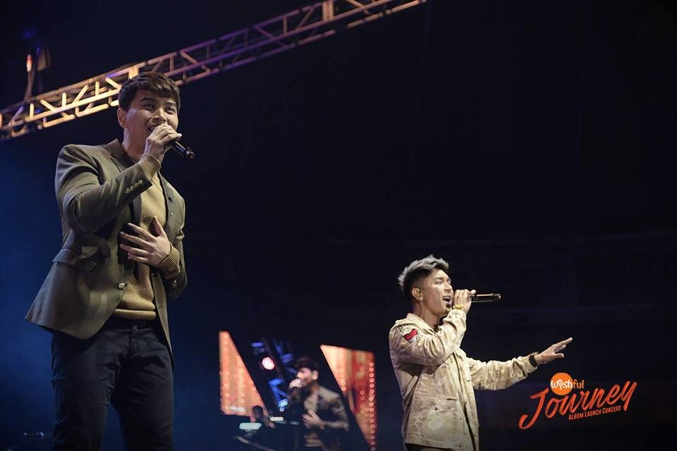 "R&B royalties Daryl Ong and Kris Lawrence serenaded the ""Wishful Journey"" audience with a swooning medley of Ed Sheeran's hit love anthems, ""Thinking Out Loud,"" ""Perfect"" and ""Dive."""