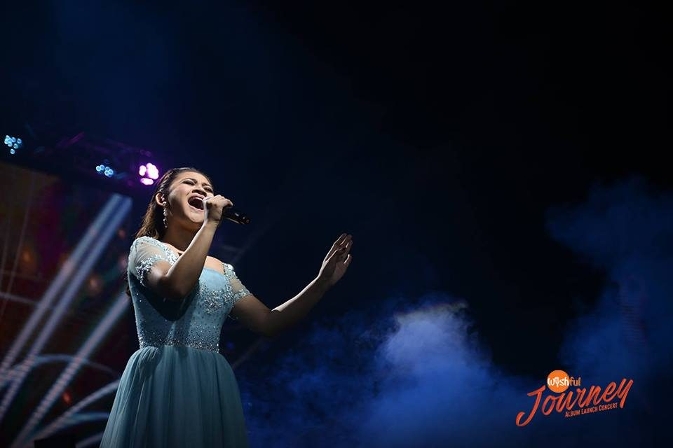 "Louie Anne Culala channeled Celine Dion in her nostalgic and breathtaking version of the well-loved Titanic theme song, ""My Heart Will Go On."""
