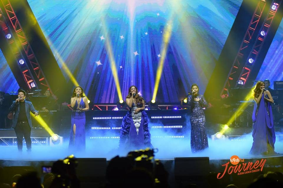 "The Wishful 5 capped off the memorable ""Wishful Journey"" Album Launch Concert with their awe-inspiring take on ""Patuloy Ang Pangarap"" and Wish 107.5's theme song."
