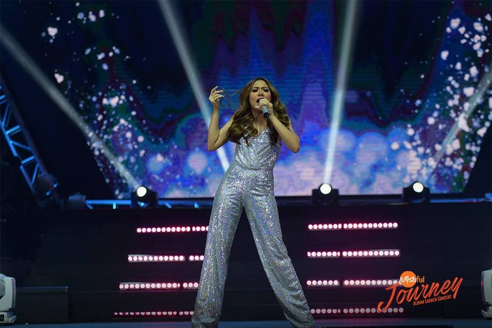 "Asia's Phoenix Morissette's made an electrifying entrance as she staged a solo performance as a special guest during the Wishful Journey Album Launch Concert. She delivered an energy-raising rendition of her newest single, ""Panaginip."""