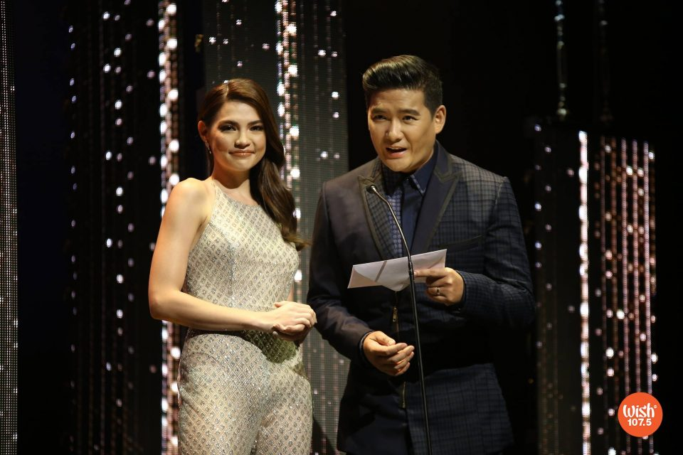 "Red Carpet hosts Rhian Ramos and Tim Yap present the ""Best Dressed Celebrity"" awards at #TheEddys2018 held on July 9 at the Theatre at Solaire."