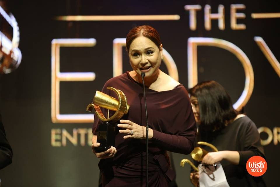 Actress-turned-TV network executive Charo Santos-Concio is one of the recipients of #TheEddys2018 Film Icon awards.
