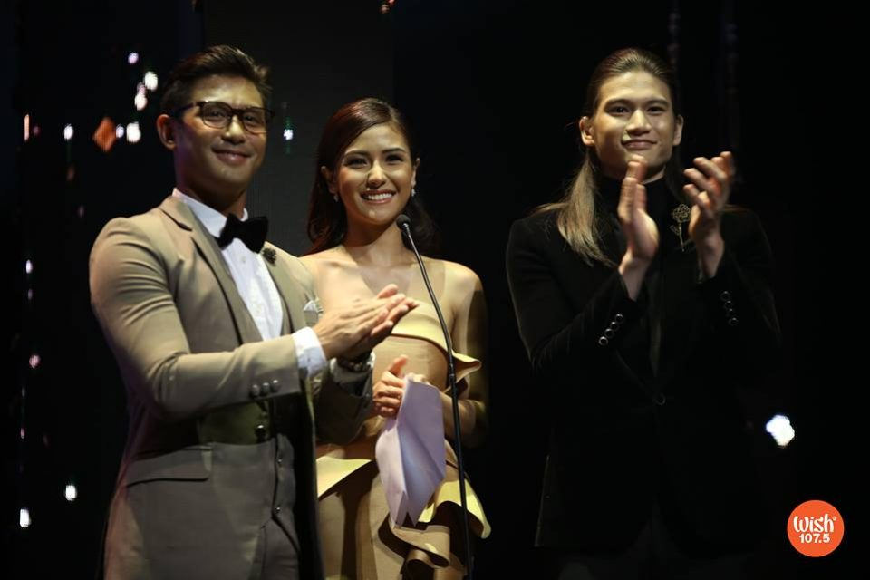 Rocco Nacino, Sanya Lopez, and Gil Cuerva grace the prestigious night and serve as presenters for one of the #TheEddys2018 categories.