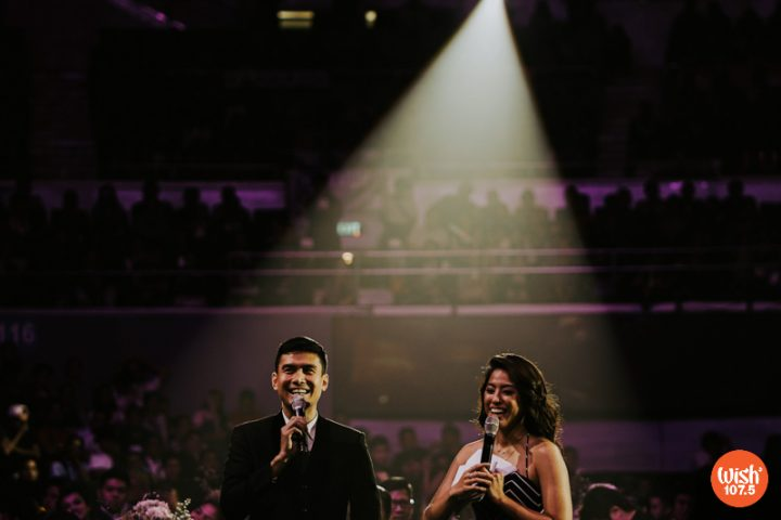 Christian Bautista and Gretchen Ho return as the hosts of the Wish 107.5 Music Awards.