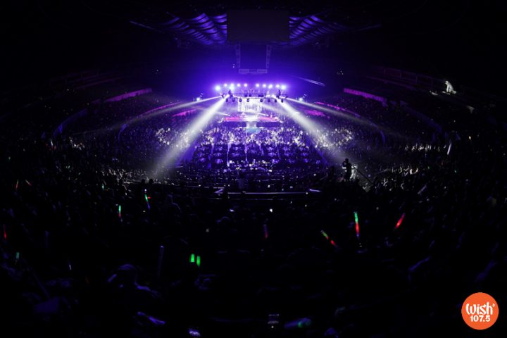 The Big Dome is once again filled to the rafters as Wish 107.5 held the fourth installment of the prestigious Wish Music Awards.
