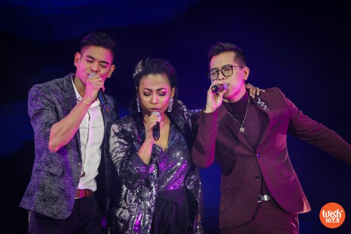 """R&B King Jay R, Queen of Soul Jaya, and The Voice Season 2 champion Jason Dy dish out a smooth performance of Tamia's signature song, """"Officially Missing You."""""""