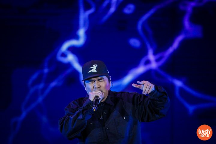 """Gloc-9 returns to the WMA stage and performs his self-penned hit, """"Lagi."""""""