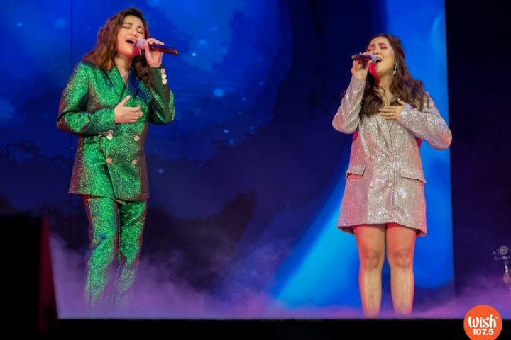 """Julie Anne San Jose and Moira perform their heart-rending duet of """"Kung Di Rin Lang Ikaw."""" The song was an original by December Avenue and Moira."""