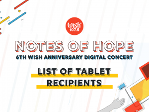 Notes of Hope Tablet Recipients Thumbnail